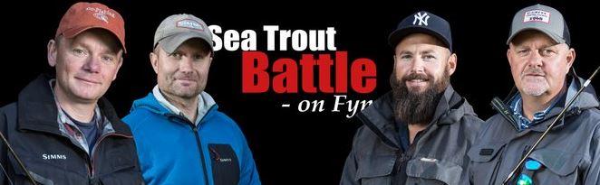 havørred fyn meerforelle sea trout brown Fyn fünen fishing sea trout battle 2 claus eriksen thomas hansen lars kyhnau